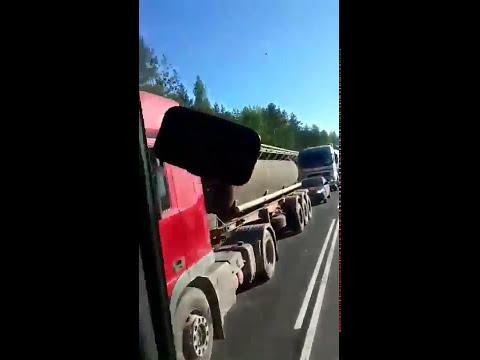 ДТП с летальным исходом  на Мурманском шоссе, Ленинградская область