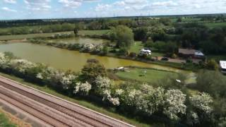 Fishing Lakes off Soss Lane, Misterton, Aerial Footage