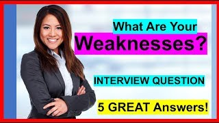 """Download lagu """"What Are Your Weaknesses"""" INTERVIEW QUESTION (5 Sample ANSWERS!)"""