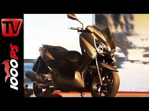 World Premiere |  Yamaha X Max 125 250 2014 Umbauten @Eicma 2013