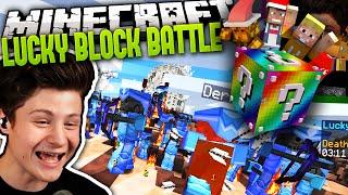 hilfe eine million zombies dd   minecraft lucky block battle 17   dner