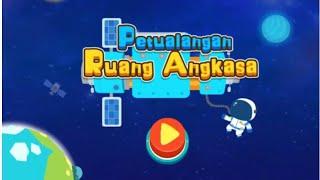 Petualangan ruang angkasa panda kiki | Panda babybus & little kids toys game screenshot 1
