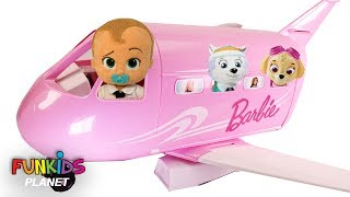 Best Learning Colors for Children: Paw Patrol Skye & Everest Jet Airplane