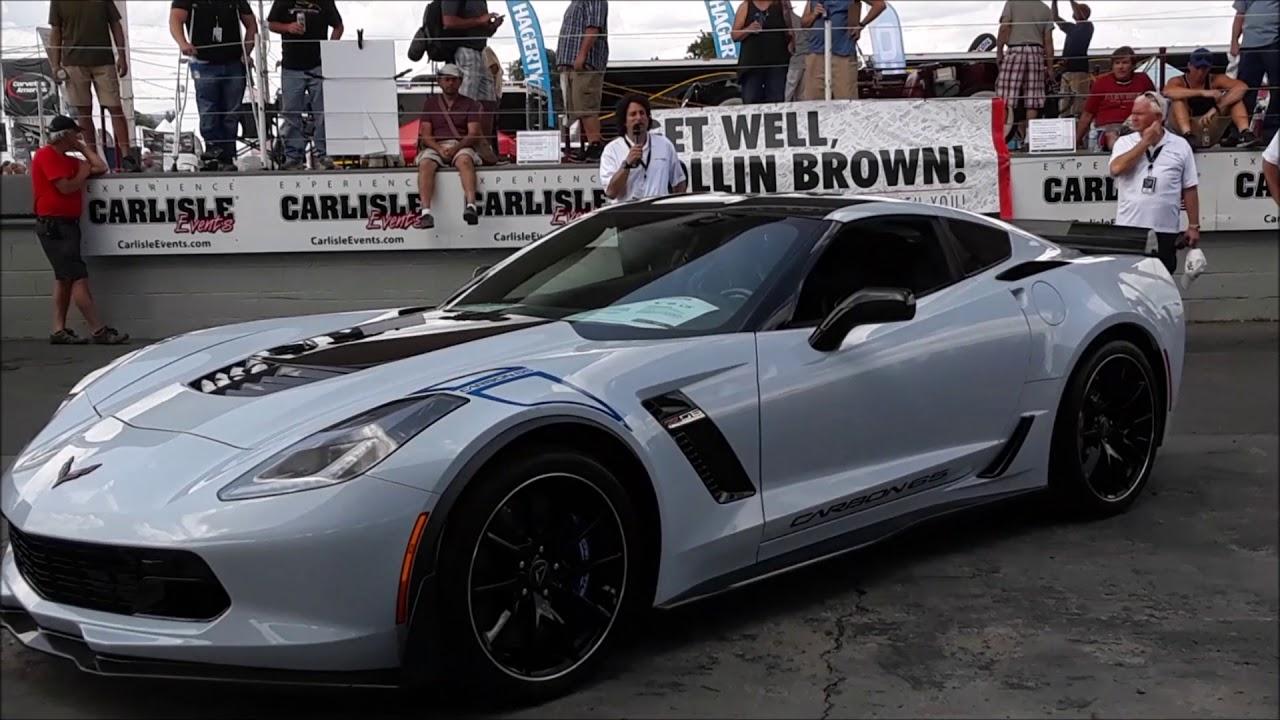 Introducing The 2018 Corvette Carbon 65 At 2017 Corvettes Carlisle