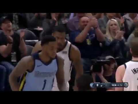 Utah Jazz vs Memphis Grizzlies   30 March 2018 NBA