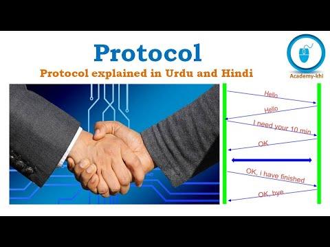 Protocol | Internet Protocol | TCP | Protocol Suite | Data Communication Protocol | Urdu And Hindi