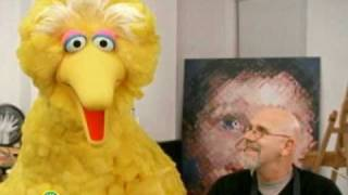 Sesame Street: Chuck Close And Self Portrait