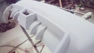 видео Тюнинг бампера своими руками