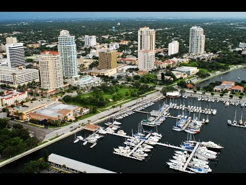Luxury Condos of Downtown St. Petersburg, FL in 40 Seconds