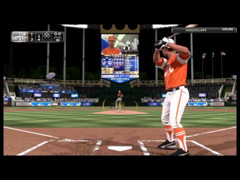 Legend Will Clark Online Highlights | Diamond Dynasty | MLB 15 The Show