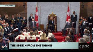 Speech from the Throne to Open the 43rd Parliament
