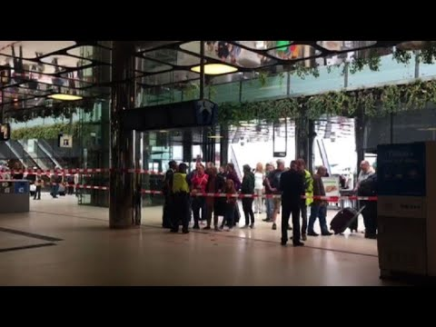 Two Hurt In Amsterdam Station Stabbing, Attacker Shot: Police
