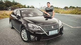 Леворульный Toyota Crown Производства КНР 丰田皇冠