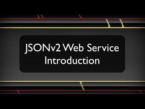 JSONv2 Web Service - RESTful Calls in...