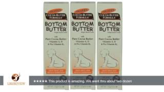 NEW Set of 3 Baby Bottom Butter Diaper Rash Cream Treats & Prevents Diaper Rash | Review/Test