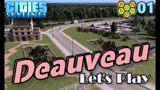 Cities Skylines - Let's Play Deauveau - 01 - Water Treatment Facility