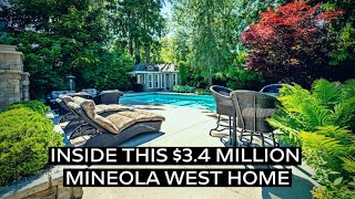 Inside this $3.4 Million Dollar Home in Mineola West!