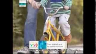 Vivan los Niños - ¿Cómo enseñarle a mi hijo a andar en bicicleta?