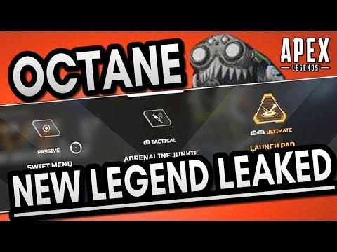 New Apex Legend Octane & his abilities leaked