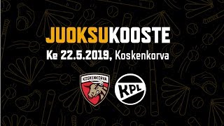 Juoksukooste ke 22.5.2019 KoU - KPL