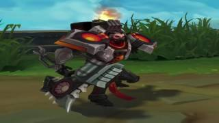 LoL Dreadnova Darius Skin Preview - League of Legends