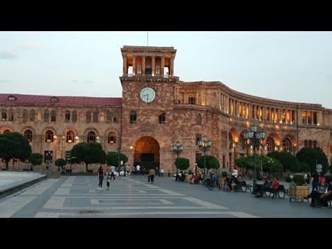 🇦🇲 Армения Ереван 5 Июля 2020!!❤️Прогулка по Еревану.🏟️