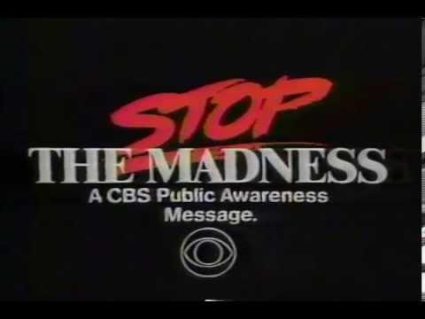 Stop The Madness PSA - Jess Walton 1989