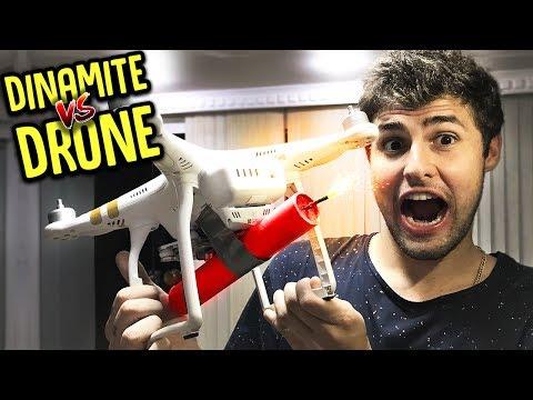 EXPLODINDO UM DRONE NO AR!! ( INCRÍVEL!! ) [ REZENDE EVIL ]