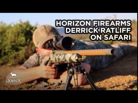 Derrick Ratliff On Safari   Horizon Firearms   John X Safaris