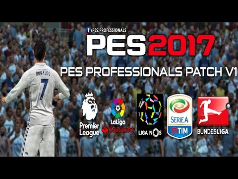 PES Professionals Patch 2017 V1 (Download + Install on PC)