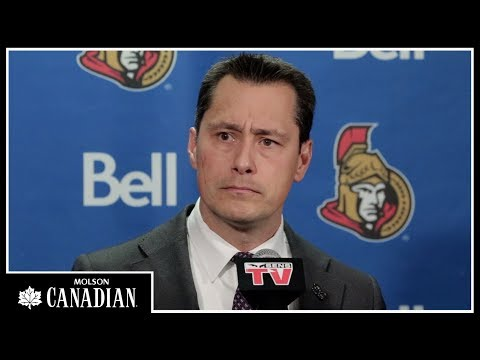 Oct 26: Sens vs. Flyers - Boucher Post-game