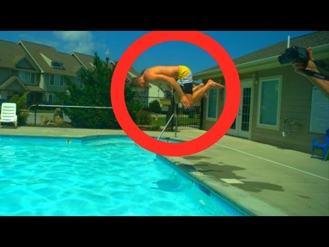 DIVING AT 3FT IN SUPER SLOW MOTION - Slow Mo Lab (HD)