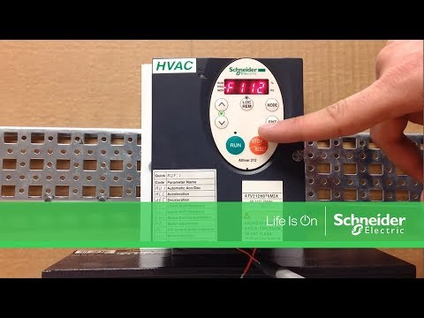 Configuring Altivar 212 Drives for 3 Wire Control | Schneider Electric Support