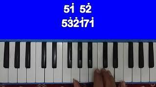 Mengheningkan Cipta  - Notasi Pianika