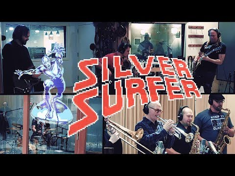 SILVER SURFER: Level 1 (NES) - Contraband VGM - シルバーサーファー
