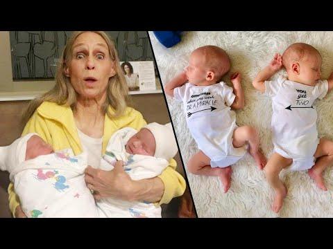 Katie Kruz - WI couple surprises relatives with 2 babies instead of 1