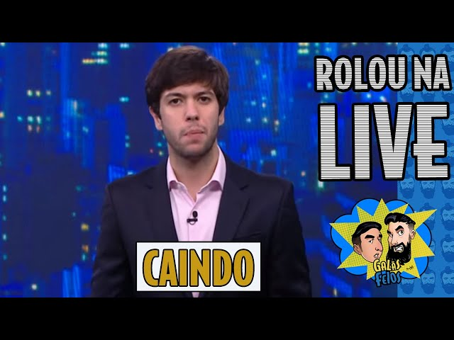 Caio Coppolla defende Pazuello e derruba audiência da CNN | Galãs Feios