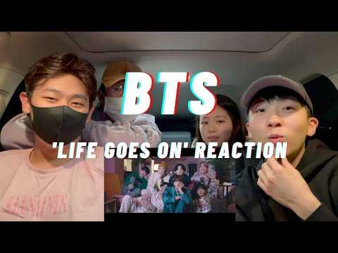 BTS (방탄소년단) 'Life Goes On' Official MV REACTION | 🥺🥺🥺