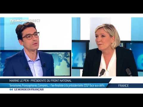 Marine Le Pen : La Nationalité française se hérite ou se mérite 5/4