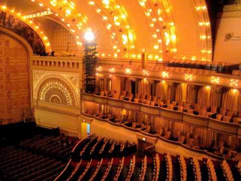 The Historic Auditorium Theatre  Chicago