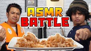ASMR Battle แข่ง Rap ด้วยการเคี้ยว