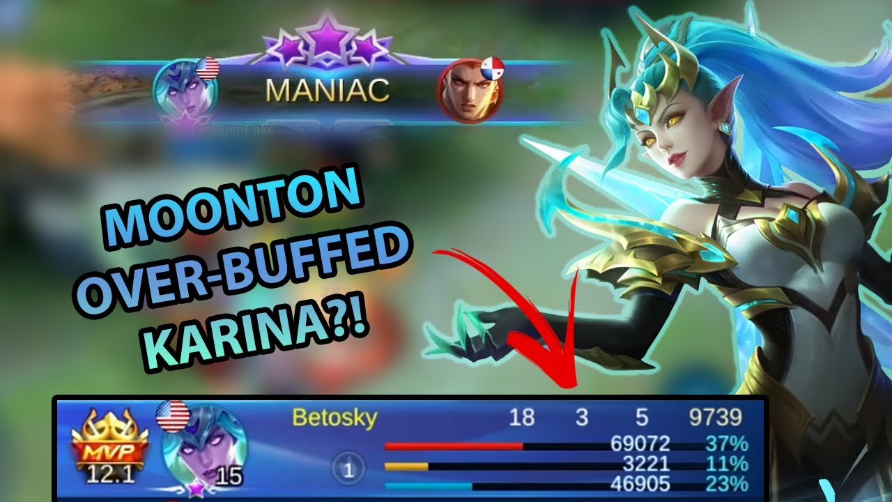 You Would Not Believe This Insane Damage From Karina! (Tutorial) | MLBB