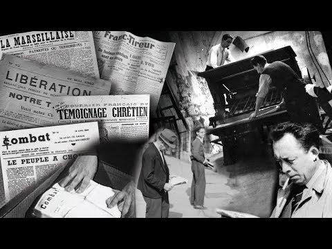 La presse clandestine sous l'occupation : Colonne vertébrale de la résistance