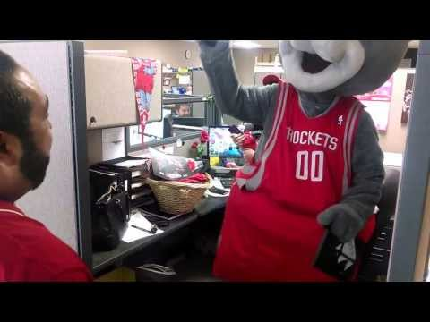 Clutch and the Houston Rockets Visit Pine's Houston Branch