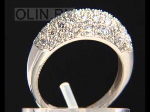 Кольцо, усыпанное бриллиантами