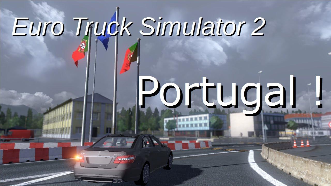 ets2 mods mapa portugal Euro Truck Simulator 2 | Trajet Limoges (France)   Viseu (Portugal  ets2 mods mapa portugal