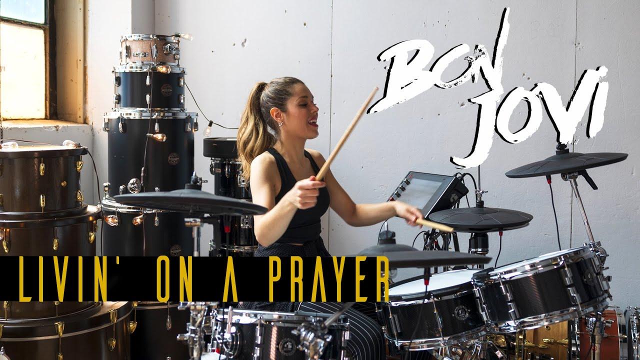 Livin' On a Prayer - Bon Jovi | DRUM COVER Domino Santantonio