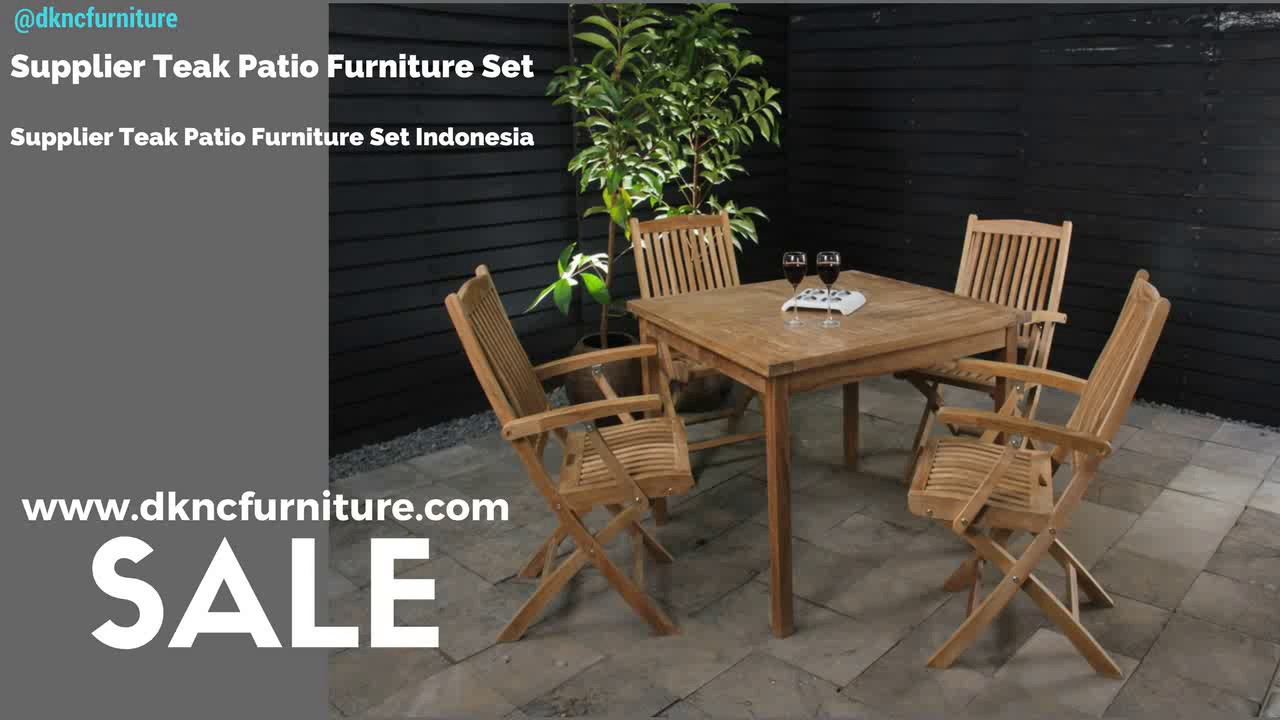 Supplier Teak Patio Furniture Set | Supplier Teak Patio Furniture Set  Indonesia