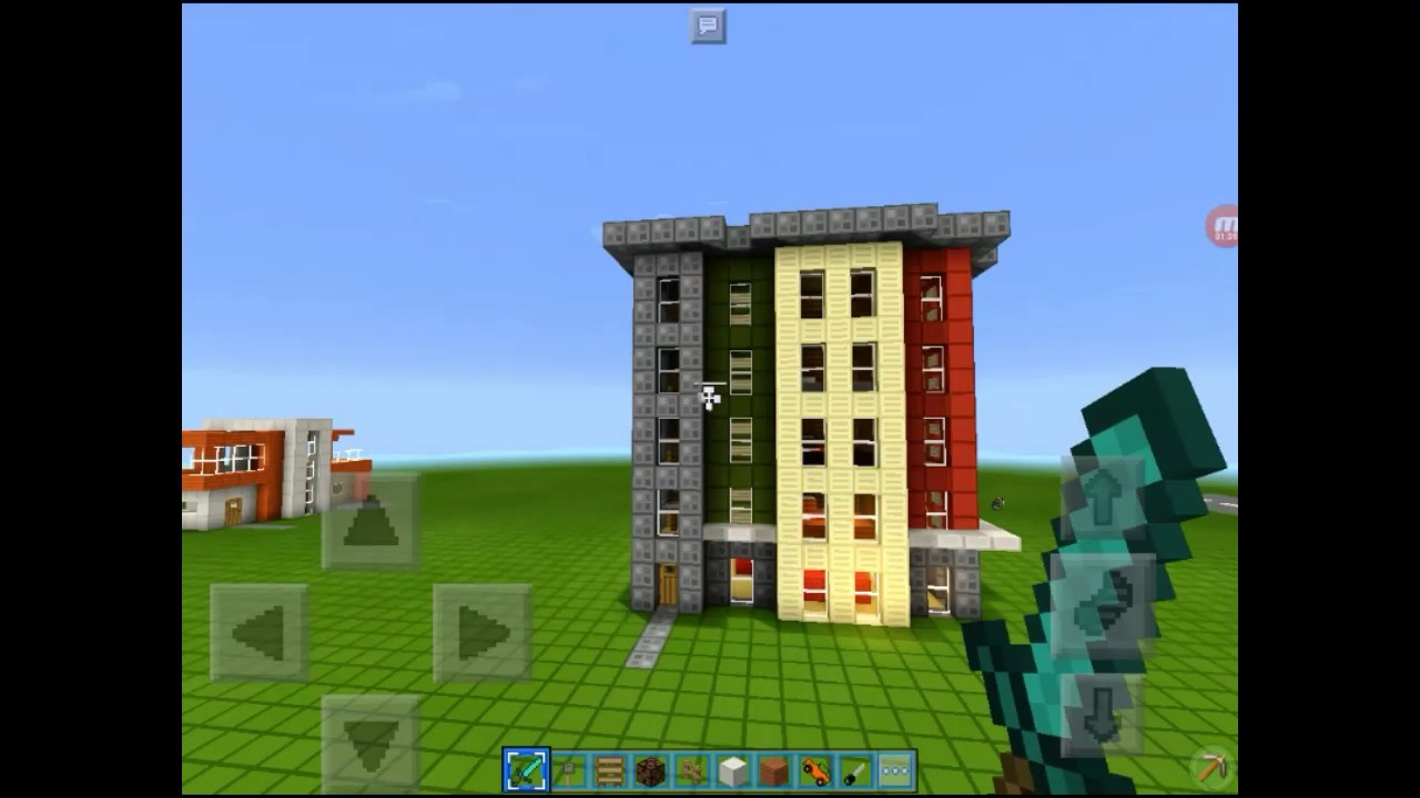 Modern Apartments In Mcpe