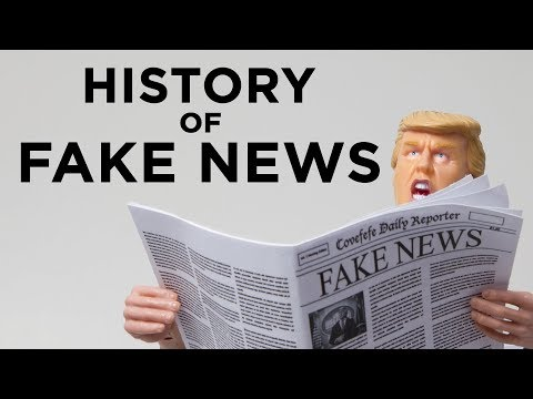 The True History of Fake News in America